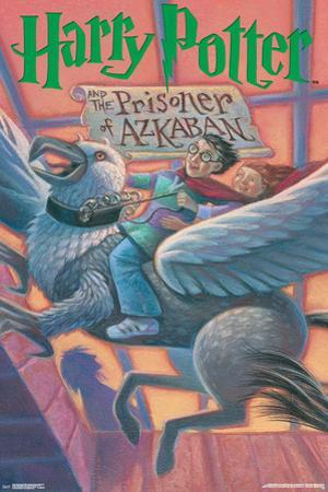 Harry Potter And The Prisoner Of Azkaban- Book Art Cover