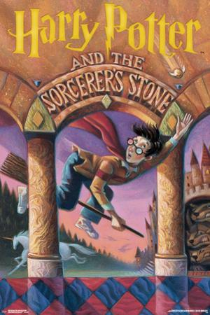 Harry Potter And The Sorcerer's Stone- Book Cover Art