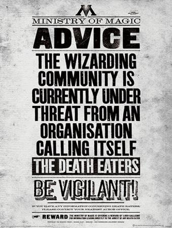 Harry Potter (Be Vigilant) Movie Poster