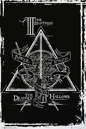 Harry Potter- Deathly Hallows Diagram
