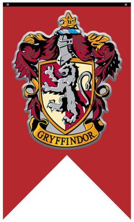 Harry Potter- Gryffindor Crest Banner