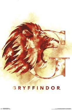 HARRY POTTER - GRYFFINDOR ILLUSTRATED