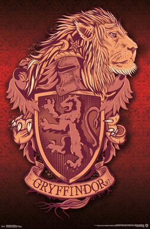 HARRY POTTER - GRYFFINDOR LION