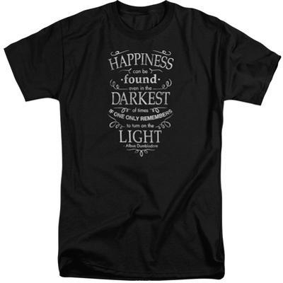 Harry Potter- Happiness Can Be Found In Darkness (Big & Tall)