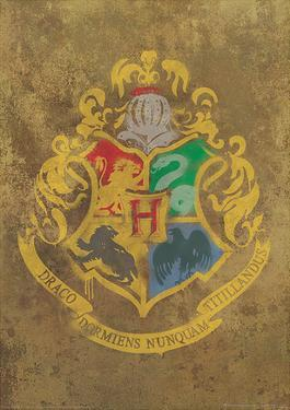 Harry Potter (Hogwarts Crest) Movie Poster