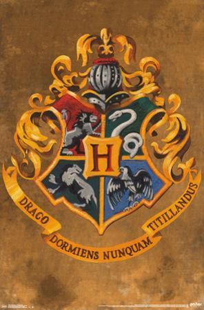 Harry Potter- Hogwarts Crest