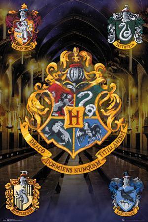 Harry Potter- Hogwarts Crests