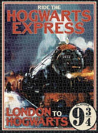 Harry Potter Hogwarts Express 1,000 Piece Puzzle