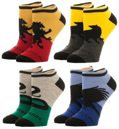 Harry Potter - Hogwarts House Ankle Socks 4 Pack