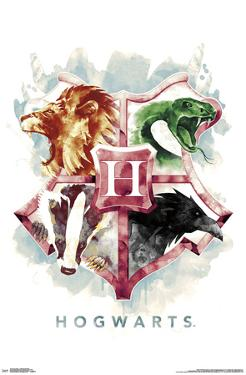 HARRY POTTER - HOGWARTS ILLUSTRATED