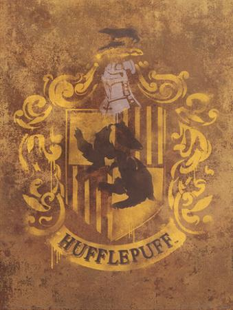 Harry Potter (Hufflepuff Crest) Movie Poster