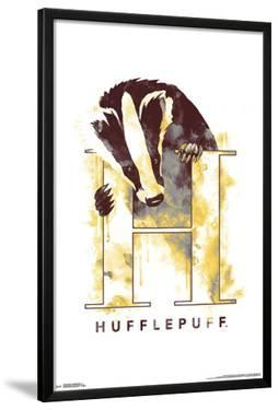 HARRY POTTER - HUFFLEPUFF ILLUSTRATED