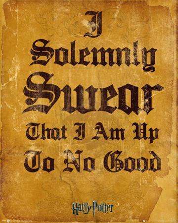 Harry Potter- I Solemnly Swear