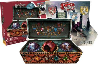 Harry Potter - Quidditch Set (2 Sided, Shaped Puzzle)