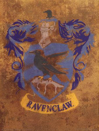 Harry Potter (Ravenclaw Crest) Movie Poster