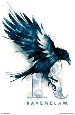 HARRY POTTER - RAVENCLAW ILLUSTRATED