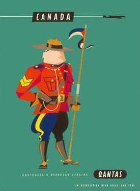 Canada - Royal Canadian Mounted Police by Harry Rogers