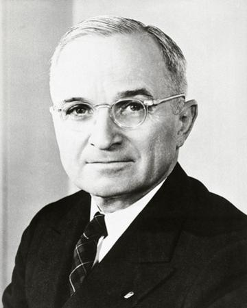 Harry S. Truman, 33rd President of the United States