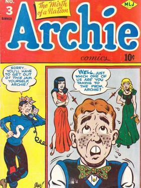 Archie Comics Retro: Archie Comic Book Cover No.3 (Aged) by Harry Sahle