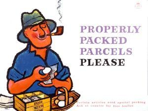 Properly Packed Parcels Please by Harry Stevens