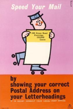 Speed Your Mail by Harry Stevens
