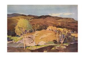 In Glen Cannich, c1891-1936, (1936) by Harry Watson