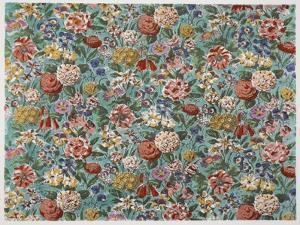 Ellsworth Garden, Pub. 1933 (Colour Litho) by Harry Wearne