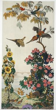 Magnum Opus: Pheasants, Pub. 1933 (Colour Litho) by Harry Wearne
