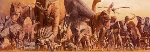 Dinosaurs by Haruko Takino