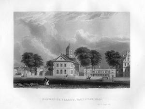 Harvard University, Cambridge, Massachusetts, 1855