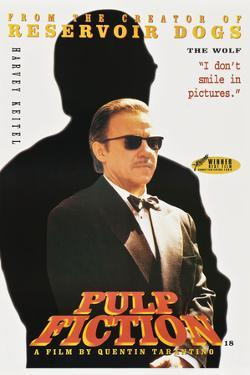 """HARVEY KEITEL. """"Pulp Fiction"""" [1994], directed by QUENTIN TARANTINO."""