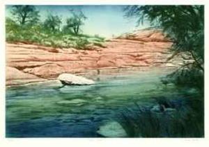 Canyon Stream by Harvey Kidder