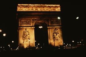 Arc De Triomphe by Harvey Meston