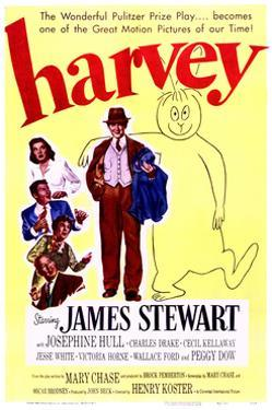 Harvey - Movie Poster Reproduction