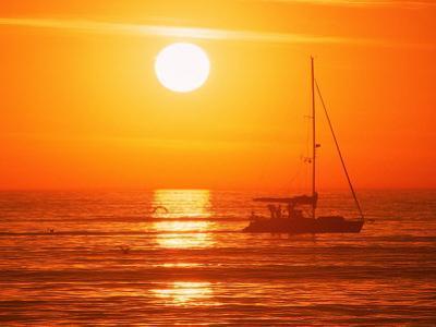Boats in Harbor, Playa Del Rey, CA