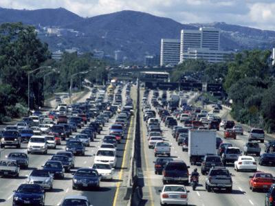 Traffic, 405 North, Los Angeles, CA