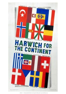 Harwich for the Continent, LNER, c.1923- 1947