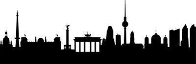 Berlin Silhouette by HAS-Vektor