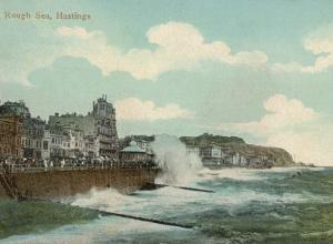 Hastings, Sussex: a Rough Sea