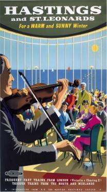 Hastings Violin Player