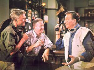 Hatari!, Hardy Kruger, Red Buttons, John Wayne, 1962