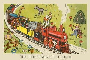 The Little Engine That Could by Hauman