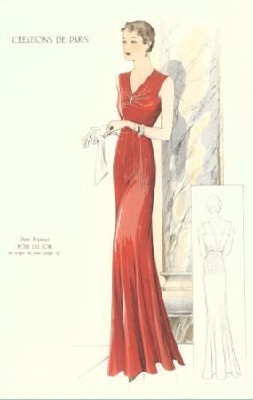 Haute Couture Evening Gown