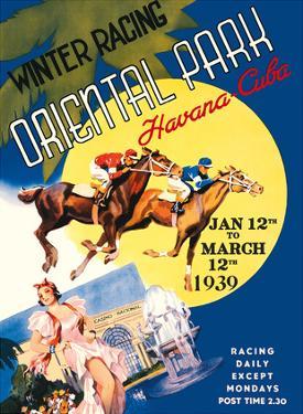Havana, Cuba - Winter Horse Racing, Oriental Park