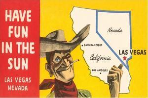 Have Fun in the Sun, Las Vegas, Map, Nevada
