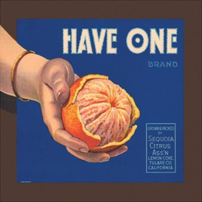 Have One Brand Oranges