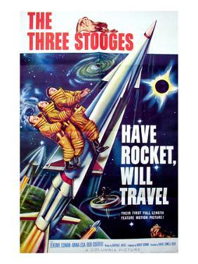 Have Rocket, Will Travel, On the Rocket, From Top: Moe Howard. Larry Fine, Joe Derita, 1959
