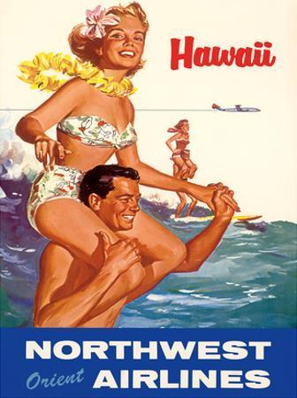 Hawaii - Northwest Orient Airlines