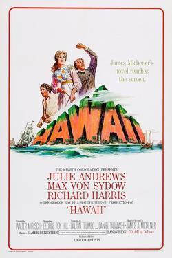 Hawaii, Richard Harris, Julie Andrews, Max Von Sydow, 1966