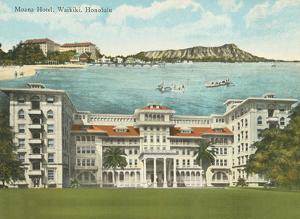 Moana Hotel - Waikiki, Honolulu - Hawaii by Hawaii & South Seas Curio